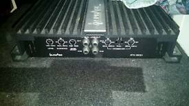 Inphase In Phase IPX600 IPX-600 600w car amplifier and 12 inch subwoofer