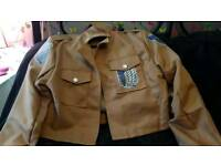 Attack on titan jacket brought from comic con