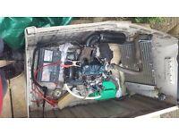 Kubota z400 470cc engine log splitter etc