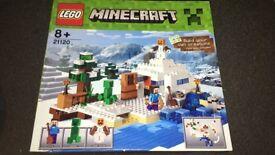 LEGO Minecraft The Snow Hideout Playset - 21120 Brand New