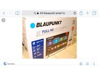 """CAN DELIVER 43"""" full hd smart led tv. Excellent condition perfect working order. £230 NO OFFERS"""