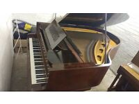 Beautiful 'Kastner & Co' Baby Grand Mahogany Style Piano - CAN DELIVER