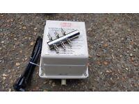 Medo 45 koi air pump and six way valve