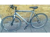 Trek 7.5 fx WITH LIGHTS hybrid *not carrera boardman raleigh fixie apollo pinnacle giant cube*