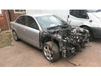 BREAKING AUDI A4 T 163 1.8 PETROL MANUAL 2008 SILVER 112k