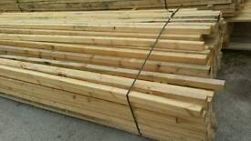 2x2 Rough Sawn (50mm x 50mm) - Various Lengths
