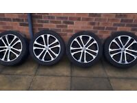 VW Golf R line Original alloys