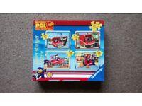 Postman Pat box of four puzzles