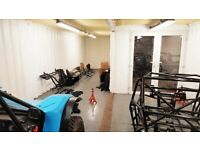 4 x 40ft Used Shipping Container Based Workshop