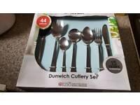 Salter 44pc cutlery set