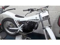 yamaha ty mono 250cc air cooled trials bike