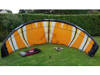Job Lot of 4 Kitesurf Kites Sligshot Fuel complete with bar and lines
