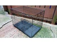 Dog cage like new.
