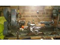 """Sold subject to collection - MYFORD ML7 3.1/2"""" CENTRE LATHE"""