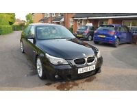 BMW 520D M-SPORT 2008 LCI - BLACK - IMMACULATE CONDITION - MAJOR UPGRADES - HIGH SPEC - BARGAIN