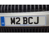 Cherished private number plate