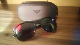 Brand new mens armani sunglasses