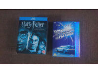 Harry Potter Complete 8-Film Blu Ray Collection & Back to the Future DVD Trilogy
