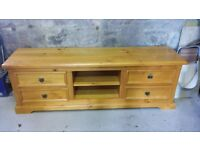 Large tv unit Solid wood