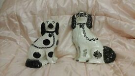 collectable china staffordshire dogs