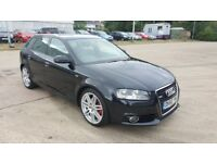 Audi A3 S Line. Immaculate Inside & Out. Low Milage. Start stop. 6 Gears. Full Service History.