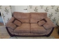 Large fabric sofa. Open for offers.