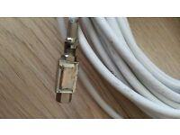 15 M Virgin Media Sky TV Broadband Extension Cable White For Tivo & Superhub