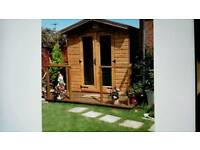 Storm proof sheds and summerhouses