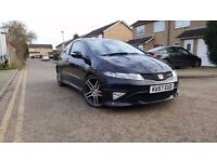 2007 Honda Civic 2.0 Typer-R-GT I-VTEC,6 speed manual,motorway mielage one owner from new