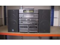 SHARP CDS400 COMPACT STEREO SYSTEM