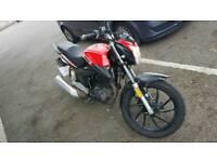 125 cc Lexmoto ZSA Starter Learner Bike