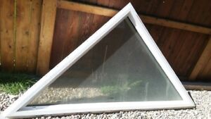 Brand new large triangle window