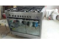 Looking for smeg cooker (6 hobs and 2ovens) good condition