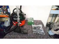 Numatic Henry Hoovers For Sale - Twin Speed w/ Full Accessory Pack and Extendable Lance (very rare)