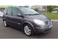 7 SEATER RENAULT GRAND SCENIC AUTOMATIC IN TOP CONDITION. I YEAR MOT. PARKING AID. ELECTRIC SUNROOF