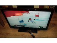 JVC LT-42TG30J LCD TV 42 inch HD Ready 1080p HD Freewiev Remote. good working 4xHDMI ports
