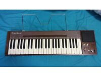 Casiotone201 in mint condition FOR SALE! Casio's first ever electronic keyboard with a tone memory!!