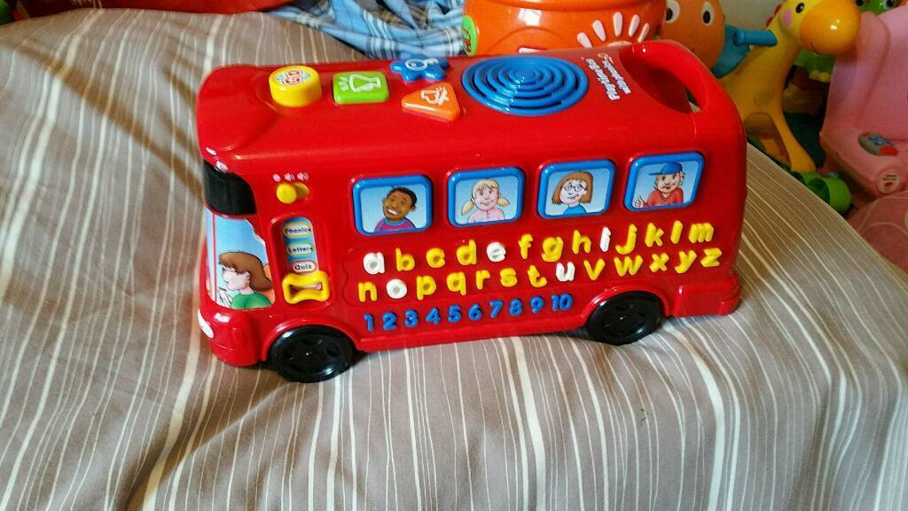 Playtime learning bus