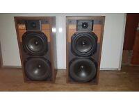 Vintage Kef Cantor III Hi-Fi Speakers