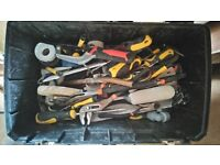 BUILDER/HANDYMAN TOOLS. £160! BARGAIN AS BUILDER LEFT THE COUNTRY.