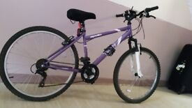 Ladies mountain bike - £75 ono. Near mint condition, barely used