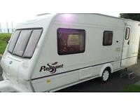 Bailey pageant 4-5 berth caravan