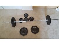 Marcy weights and lifting bar