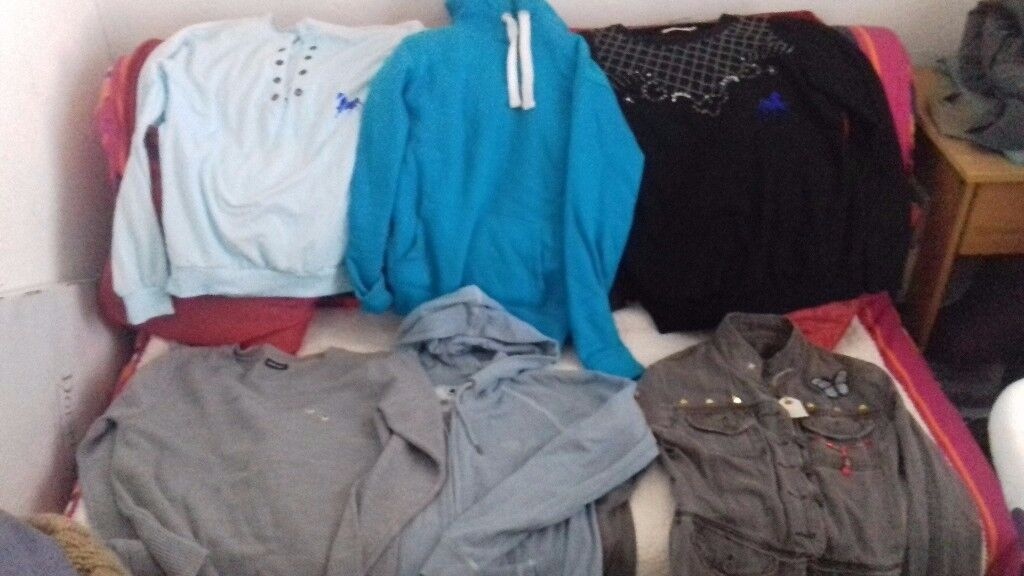 clothes bundle to clear size 8 10 new jumpers tops etc