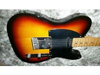 fender squier silver series telecaster guitar made in japan 1993/4