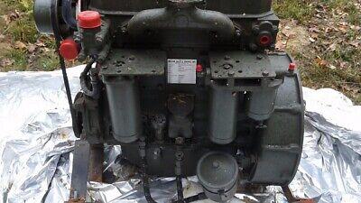 White Hercules D198er 4 Cylinder Diesel Engine Remanufactured By Melton Co.