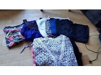 selection of maternity tops size 8,10 and 12