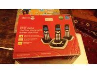 DORO Digital Cordless Phone & Answer Machine