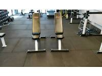 York adjustable weights bench. 2 available. Great condition