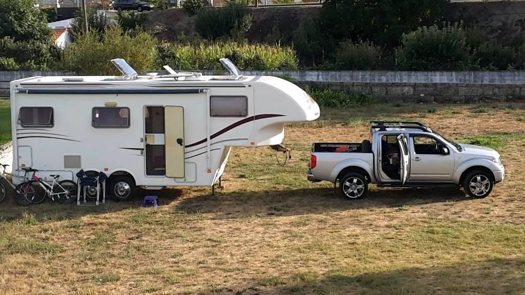 65e8574345 5th Wheel Celtic Rambler Fifth Wheel Trailer Camper near Malaga Spain